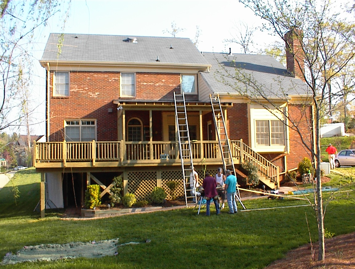 Charlotte Nc Screen Porch Builder Weddington Waxhaw