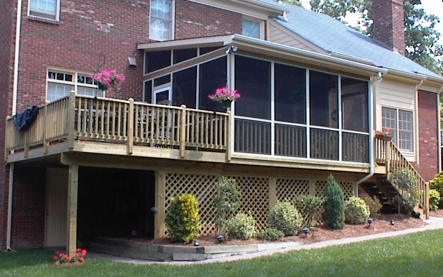 Charlotte NC. Screen Porch Builder, Weddington, Waxhaw