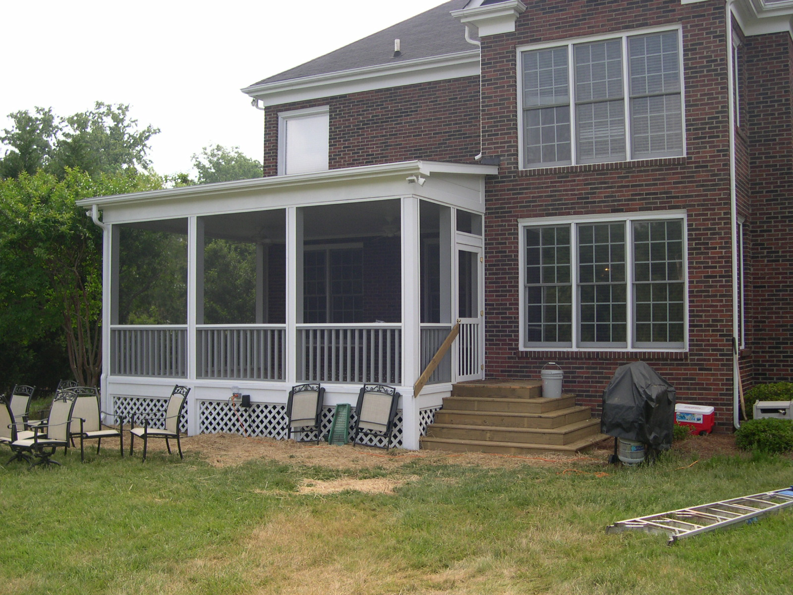 Specialty Porches - Before and After Photos