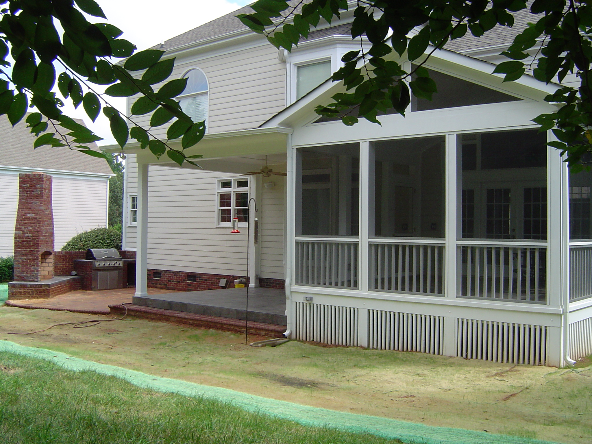 decks in combination sc porch deck close tag columbia custom screened view and screen porches patios builder
