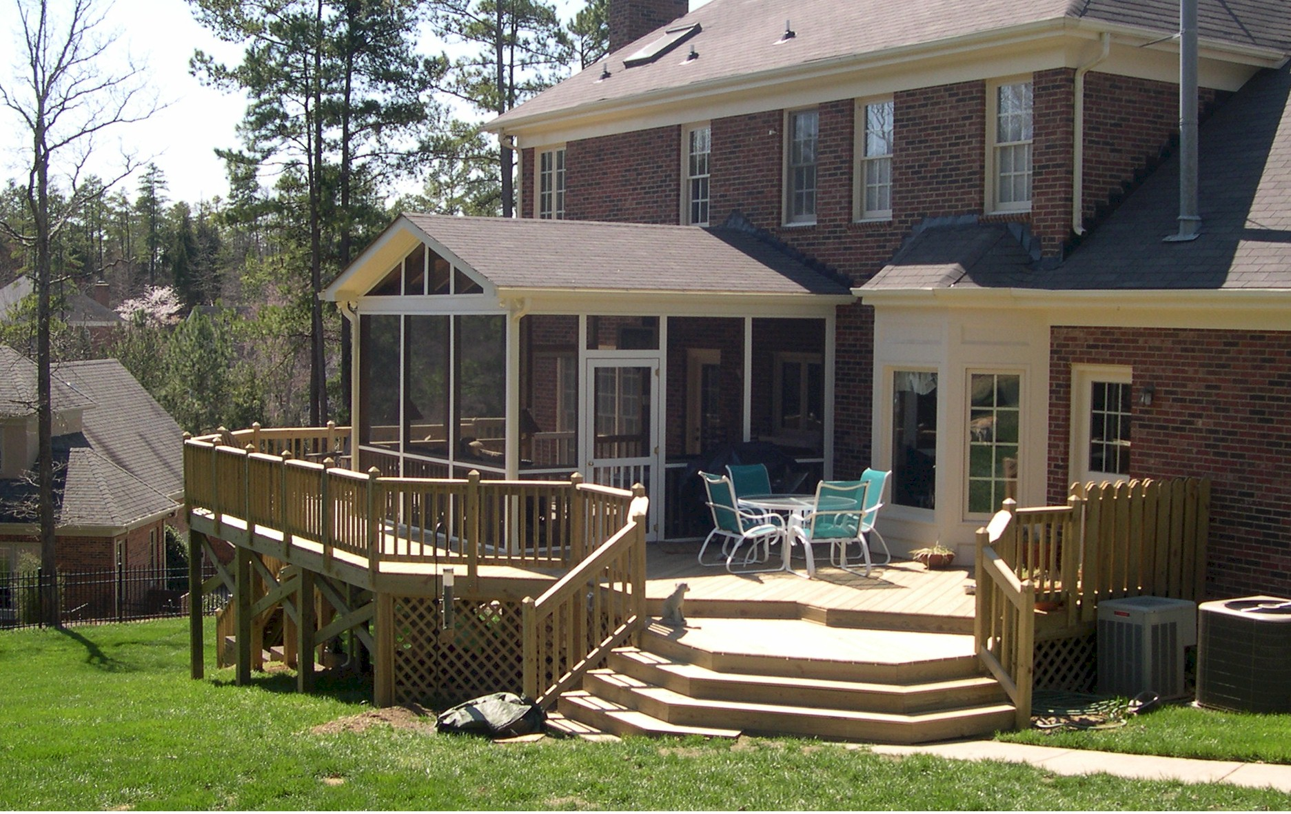 Charlotte Hunterville Builder Screen Porch Sunroom